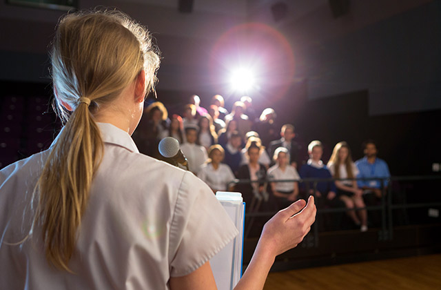 Gain Public Speaking confidence
